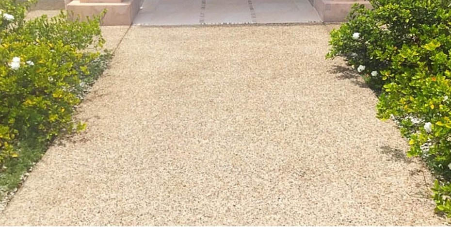 Driveway cleaning - after