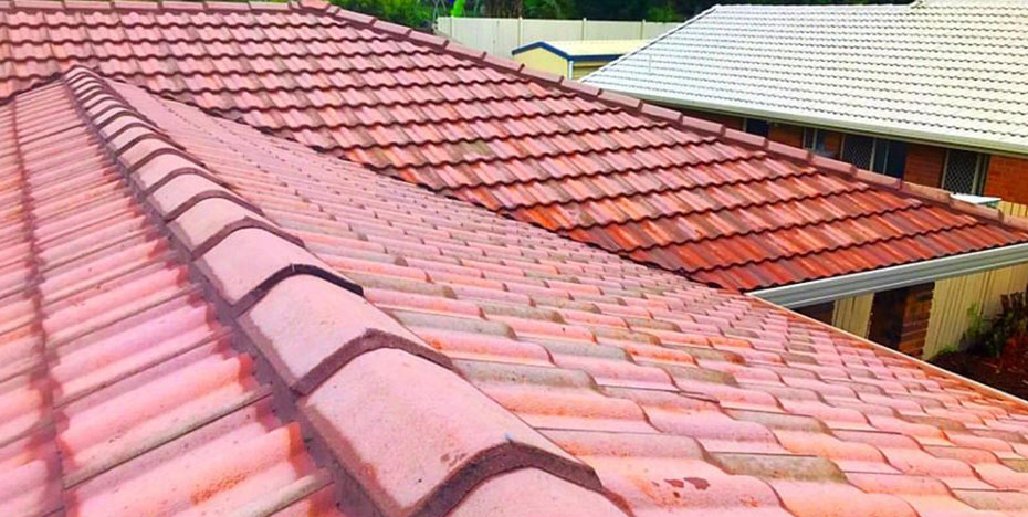 Roof cleaning - after