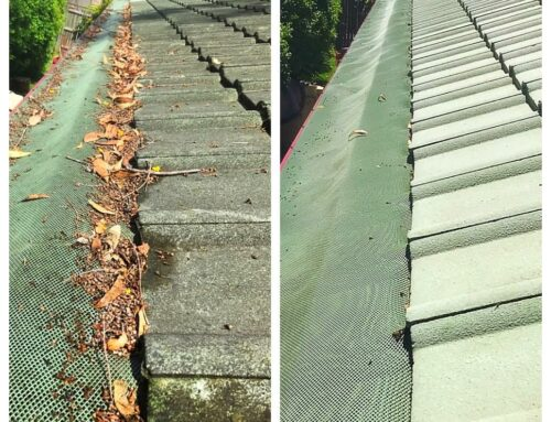 Gutter cleaning is a matter of safety